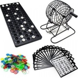 Complete Toys Bingo Game Set Board Games