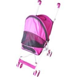AmorosO 6132 Pet Strollers - Pink