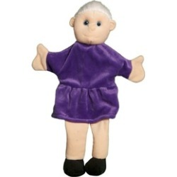Sunny Toys PP5201 12 in. Grandma, Palm Puppet