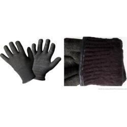Glider Gloves W15-9540M-BLCK-L Winter Style Touchscreen Gloves Black Large