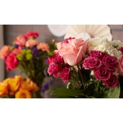 Annual Membership & Holiday-Centerpiece Floral Class for One or Two at United Wholesale Flowers (Up to 46% Off)