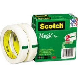 3M 8102P3472 Magic Tape 3/4 x2592 3 Core 2