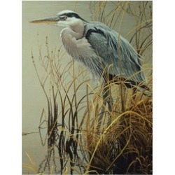 Outset Media Games OM52081 Great Blue Heron 500 piece Puzzle