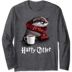 Funny Otter Longsleeve Harry Otter Shirt for Otter lover