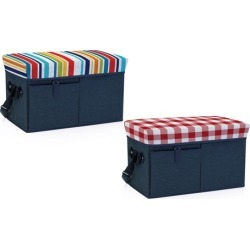Picnic Time Ottoman Cooler and Seat
