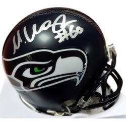 Autographed Max Unger Seattle Seahawks Mini Helmet
