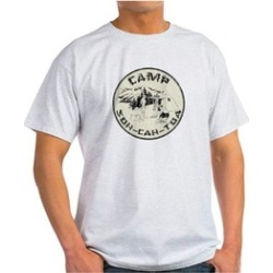 CafePress Camp SOH Cah Toa T-Shirt found on Bargain Bro India from groupon for $9.98