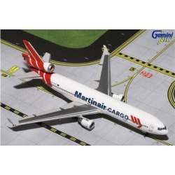 Gemini Jets 1-400 GJ1195 Final Flight Martinair Cargo MD-11CF 1-400 Scale Model