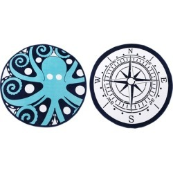 Thomas Paul Cotton Round Beach Towels