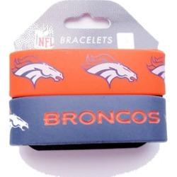 Sports Team Logo Set of 2 Wrist Band NFL