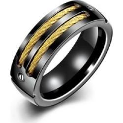 Bands Rings 8mm Titanium steel