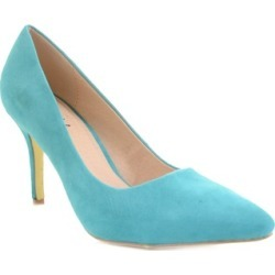 Pointed Toe Single Sole Pump Heels Vegan Suede Fourever Funky