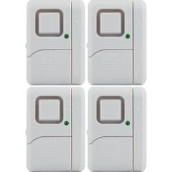 GE Magnetic Indoor Window Alarms (4 pk)