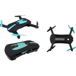 TechComm Foldable Mini Selfie Drone with 0.3MP WiFi Camera