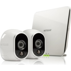 Netgear Arlo Smart Security System with 2 Wireless HD Cameras (Manufacturer Refurbished) found on Bargain Bro India from groupon for $169.99