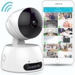 IP Camera WiFi Cam - HD Network Camera with Remote App Control, 720p