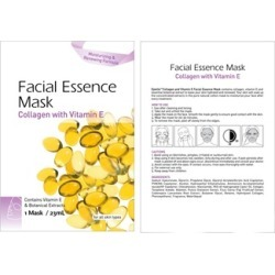 Natural Facial Essence Mask Collagen & Vitamin E