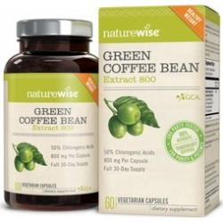 NatureWise Green Coffee Bean 800mg Weight Loss Supplement 60 count