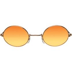 Glasses John Gold Orange Yellow