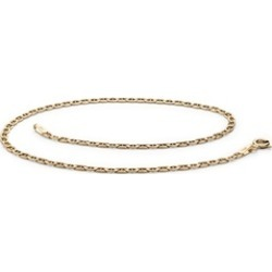 Mariner-Link Ankle Bracelet in 14k Yellow Gold
