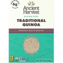 Ancient Harvest Quinoa Ancient Harvest Quinoa - 12 Oz