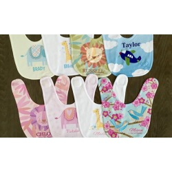 Personalized Baby Bibs (Up to 53% Off)