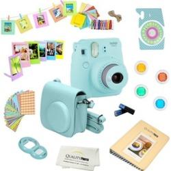 Fujifilm Instax Mini 9 Instant Film Camera with Deluxe Accessories Bundle