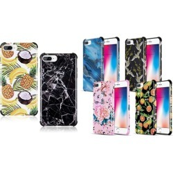 WalvoDesign TPU iPhone Cases with Corner Protection and Summer Designs