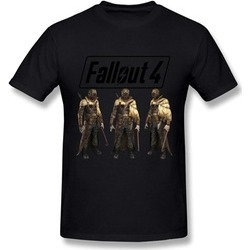 Shuqi CaiTian Video Games Fallout 4 Adult Tee
