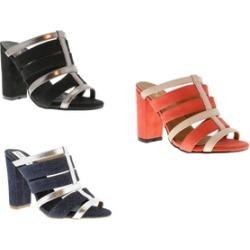 Moca Woman's Peep Toe Strap Heels