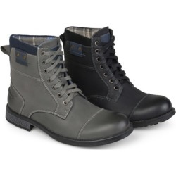 Journee Collection Vance Co. Men's Genuine Leather Lace-Up Boots