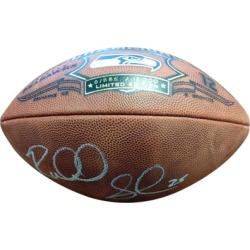 Autographed Richard Sherman Seattle Seahawks Football