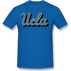Men's Ucla Bruins Basketball Gear Logo Crew Neck T-shirt Royal Blue