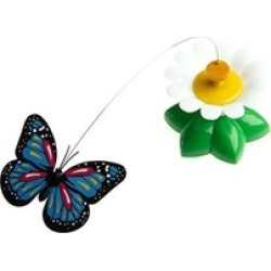 Excellent Flying Butterfly Electric Rotating Funny Cat Toys (2Pack)