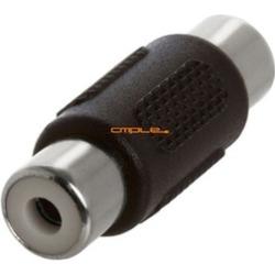 Cmple - RGB RCA Coupler Video Audio 1-RCA Component