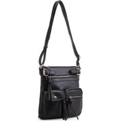 MKF Collection Jamie Soft Pebble Multi-Pockets Cross Body Bag by Mia K Farrow