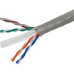Cat6 Ethernet Bulk Cable Network Stranded UTP 24AWG 1000ft Gray