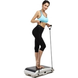 X-MAG Whole Body Vibration Fitness Trainer Platform Machine with Strap