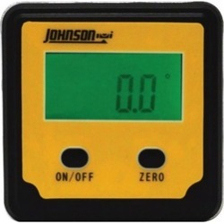 Johnson Level 1886-0000 Magnetic Digital Angle Locator 2 Button