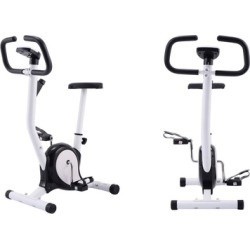 Exercise Bike Stationary Cycling Fitness Cardio Aerobic Equipment Gym