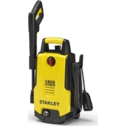 Stanley 1600 PSI Electric Pressure Washer, Vari-Spray Nozzle, Wand