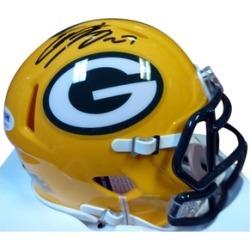 Autographed Eddie Lacy Green Bay Packers Speed Mini Helmet