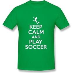 Coste WSB Keep Calm Play Soccer Adult Tee