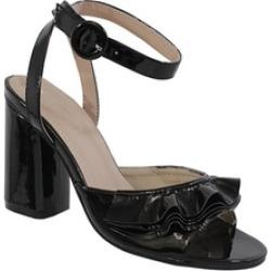 ALAINA-16 Women's Ruffle Vamp Heels