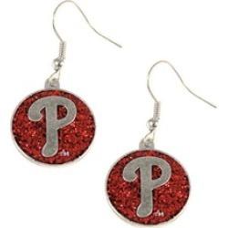 Sports Team Logo Glitter Sparkle Dangle Logo Earring Set Charm Gift MLB