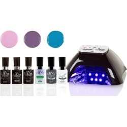 UV-Nails LED Lamp and Gel Nail Polish Sets found on MODAPINS from groupon for USD $64.99