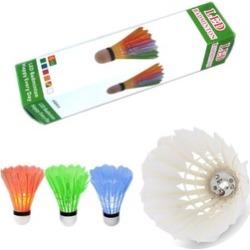 6pcs LED Color Badminton Birdies Shuttlecock Light Set