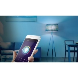 Merkury Innovations Bright 800-Lumen Smart WiFI LED Light Bulb (1- or 2-Pack) (Compatible with iOS and Android Devices)