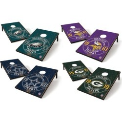 Groupon Exclusive: Wild Sports NFL Established Team Logo 2' x 3' Tailgate Toss Game