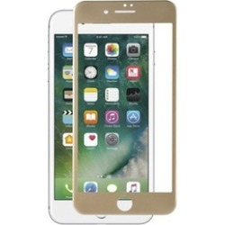 Insten Tempered Glass Screen Protector LCD Film For Apple iPhone 7 Plus - Gold